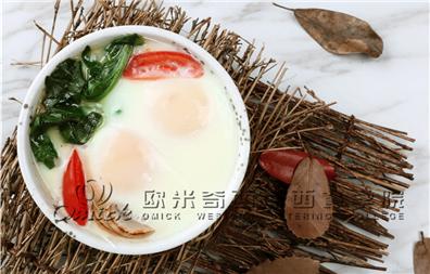 法式番茄小蒸蛋