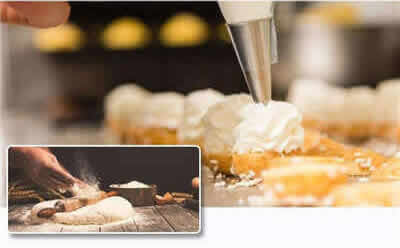 <b>上海欧米奇   烘焙甜点 · 国际班</b>