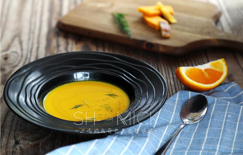 甜橙南瓜汤