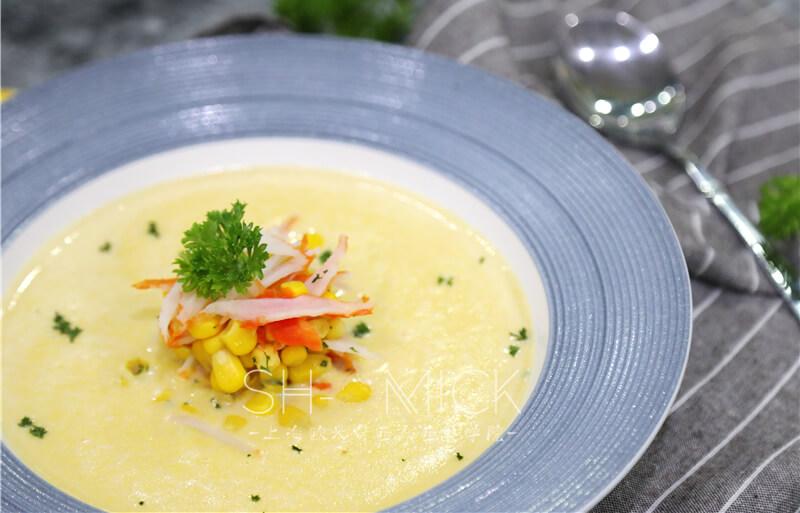 蟹肉玉米浓汤