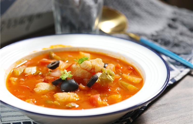 茄汁酸辣鱼汤