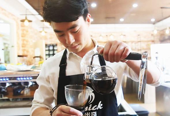 咖啡课堂 虹吸式咖啡