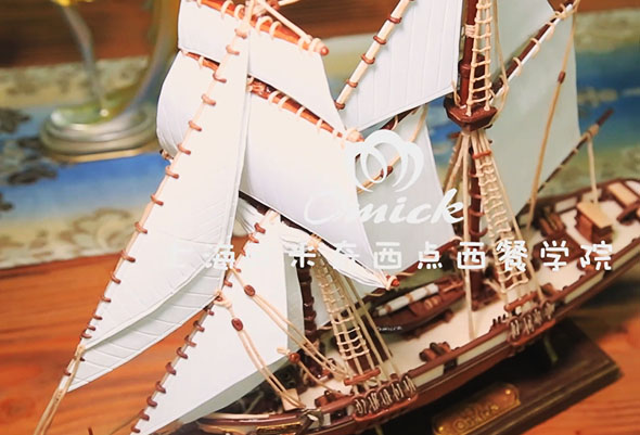 烘焙课堂 - 巧克力帆船