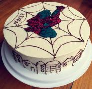 8寸蛋糕简单裱花图片真美